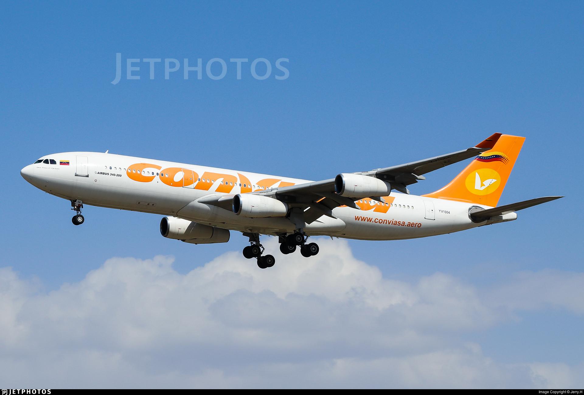 YV1004 - Airbus A340-211 - Conviasa