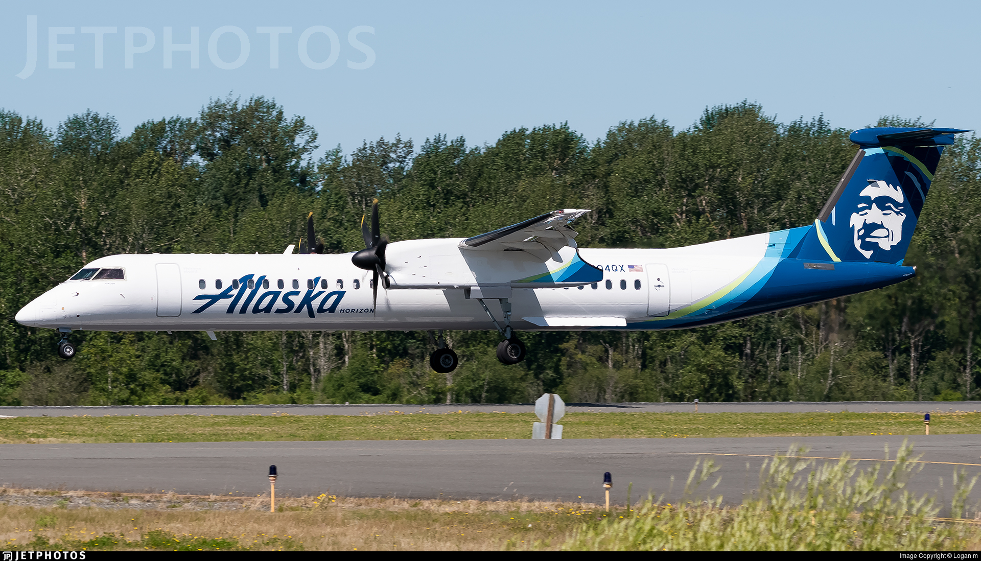 N404QX - Bombardier Dash 8-Q402 - Alaska Airlines (Horizon Air)