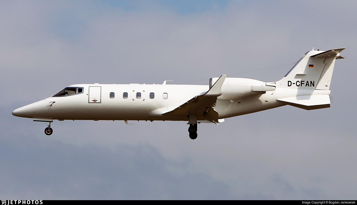 D-CFAN - Bombardier Learjet 60 - Private