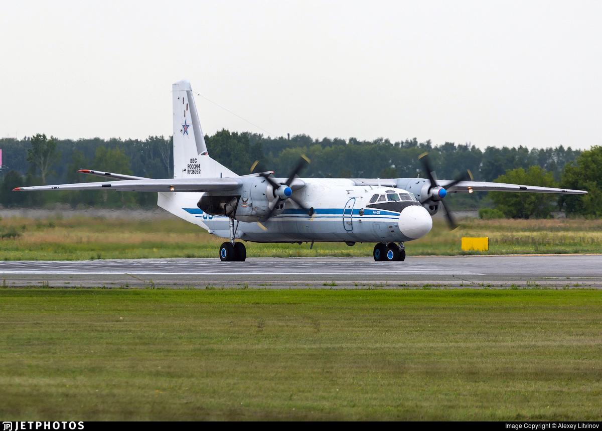 RF-36092 - Antonov An-26 - Russia - Air Force