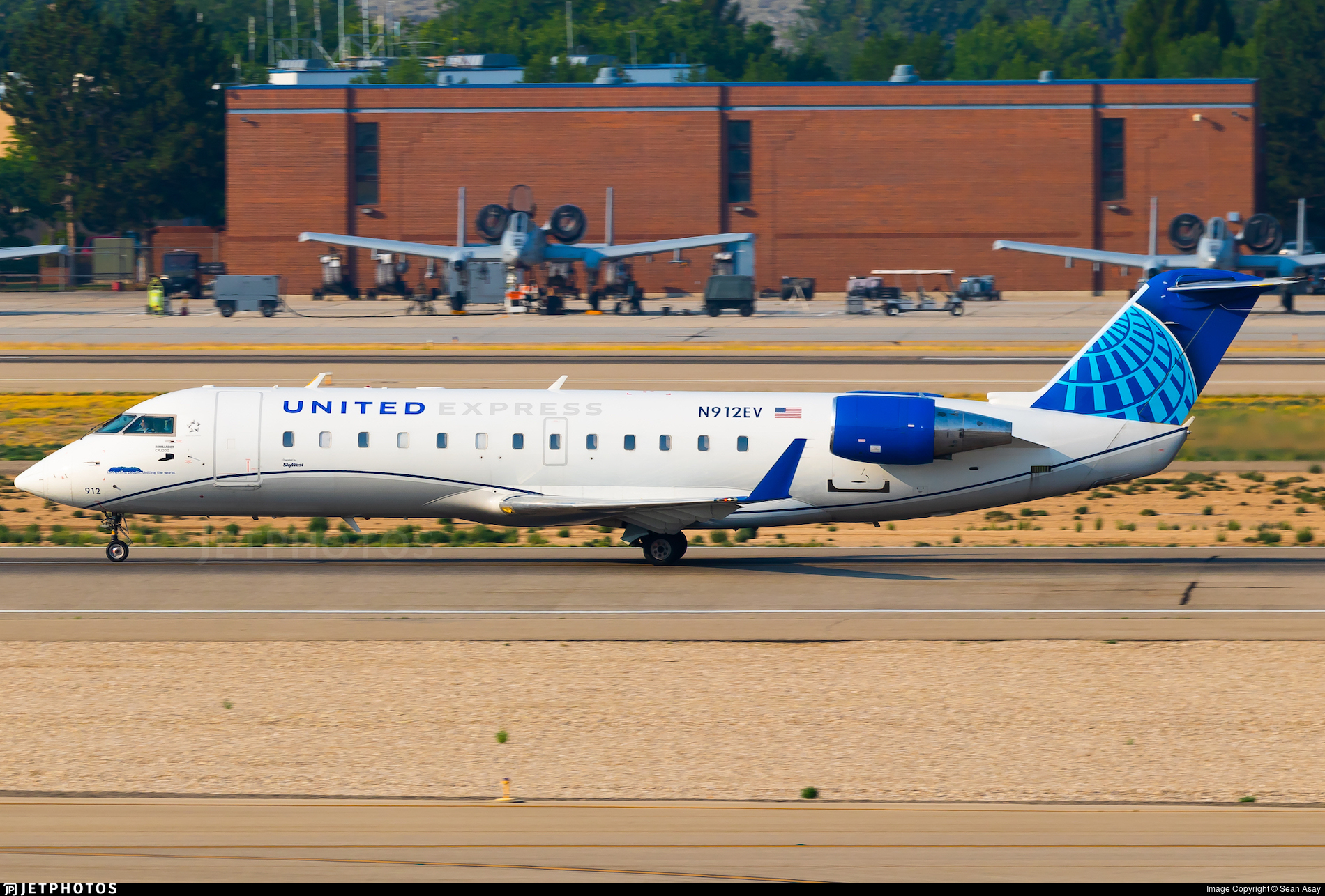 N912EV - Bombardier CRJ-200ER - United Express (SkyWest Airlines)