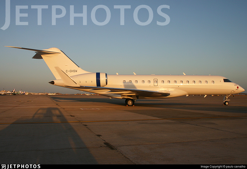 C-GHSW - Bombardier BD-700-1A10 Global 6000 - Skyservice Business Aviation