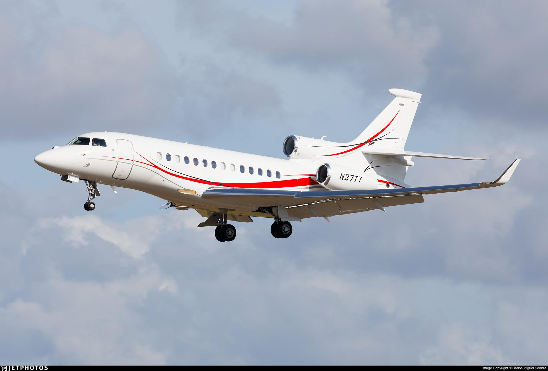 N37TY - Dassault Falcon 7X - Private