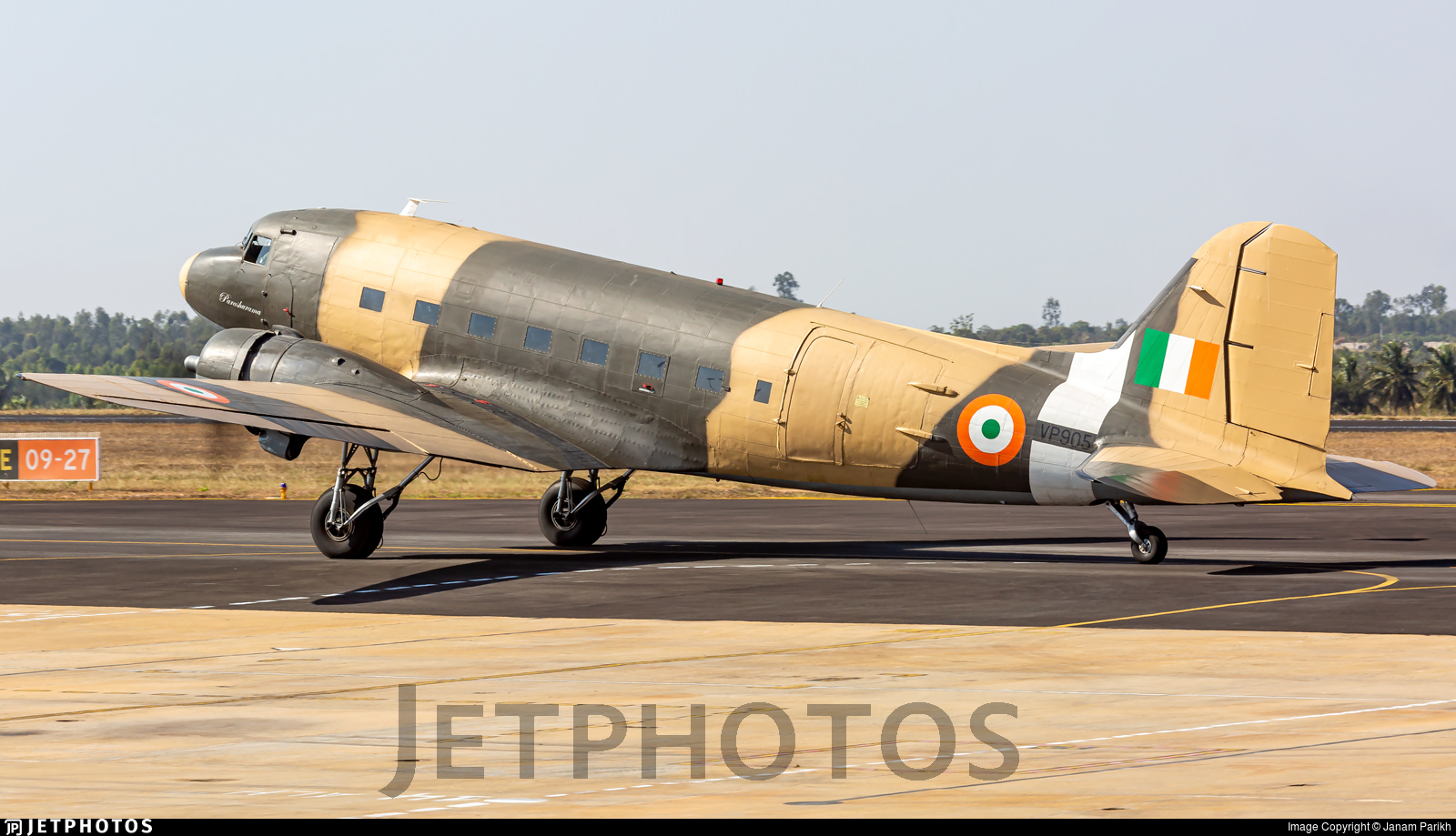 VP905 - Douglas C-47B Skytrain - India - Air Force
