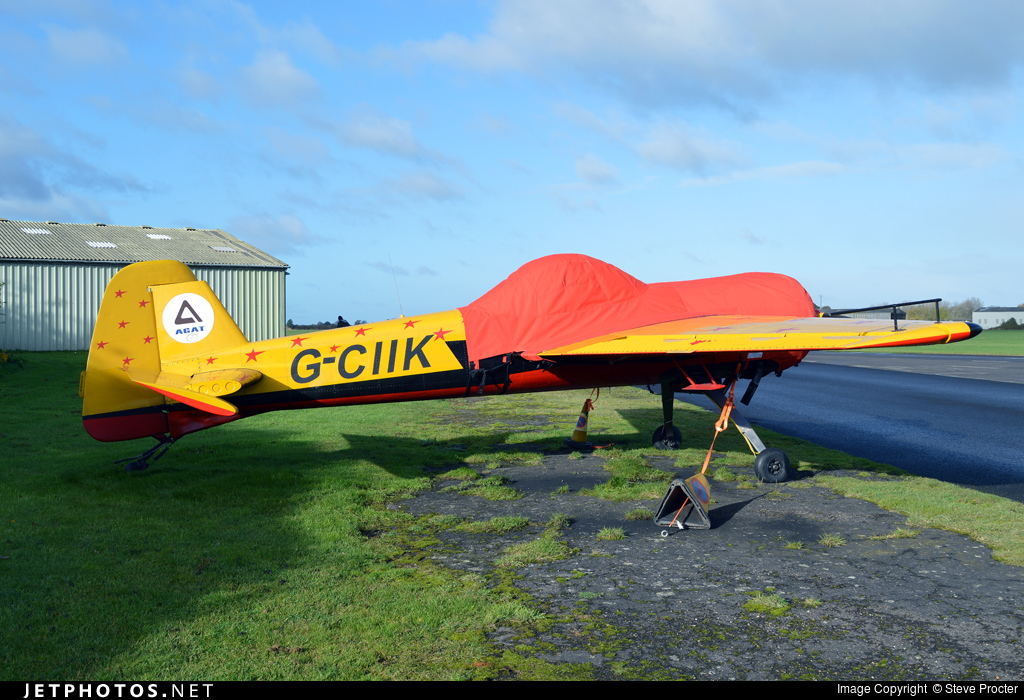 G-CIIK - Yakovlev Yak-55 - Private