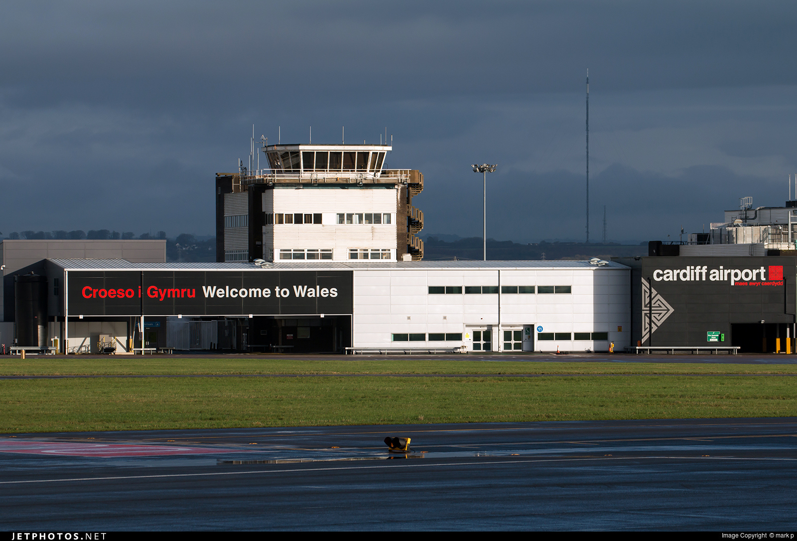 EGFF - Airport - Control Tower