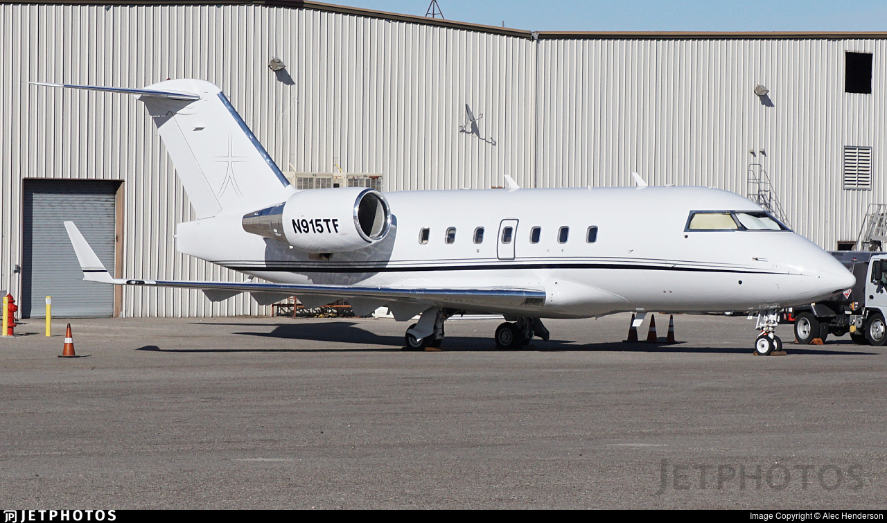N915TF - Bombardier CL-600-2B16 Challenger 601-3R - Private
