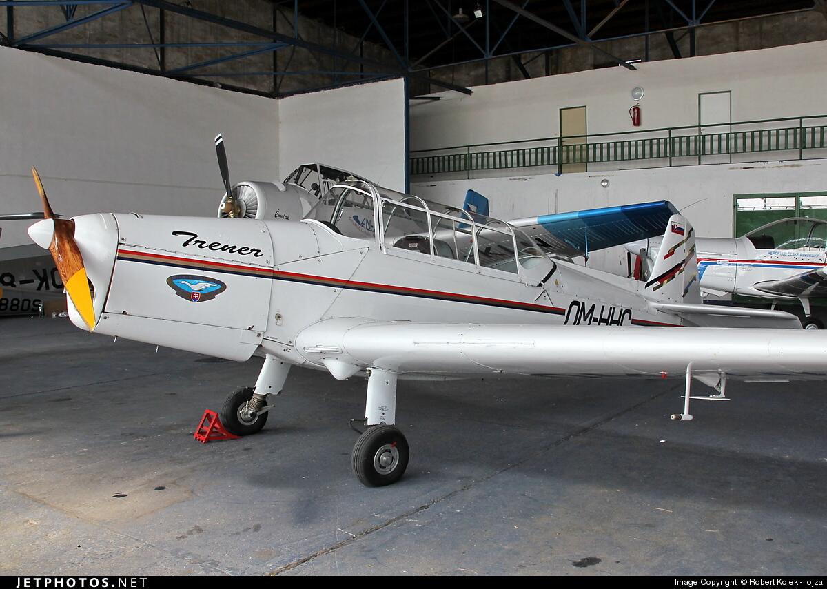 OM-HHC - Zlin Z-126 Trenér 2 - Aero Club - Dubnica nad Vahom