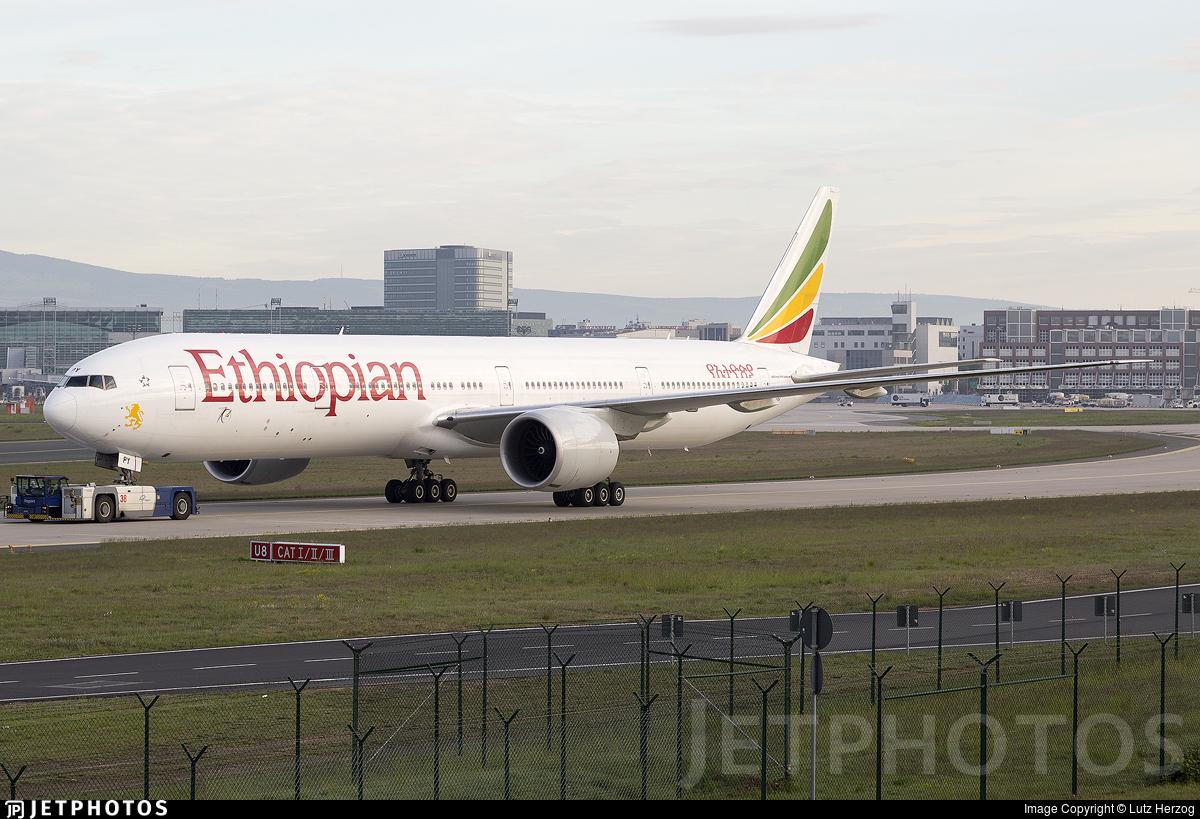 ET-APY - Boeing 777-36NER - Ethiopian Airlines