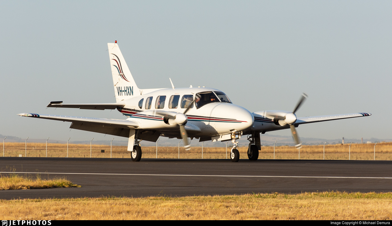VH-HXN - Piper PA-31-310 Navajo - Kirkhope Aviation