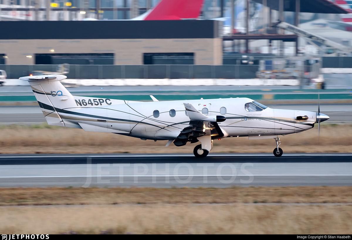 N645PC - Pilatus PC-12/45 - Boutique Air