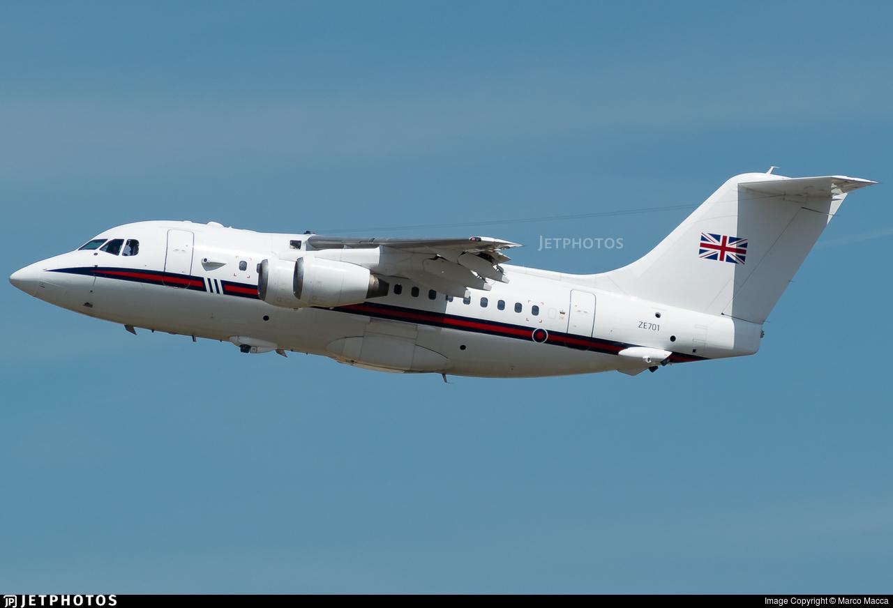 ZE701 - British Aerospace Bae 146 CC.2 - United Kingdom - Royal Air Force (RAF)