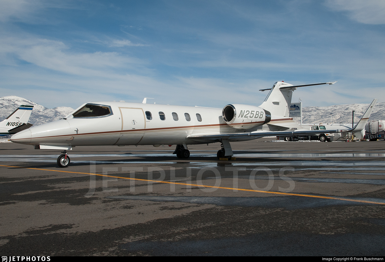 N25BB - Bombardier Learjet 31A - Private
