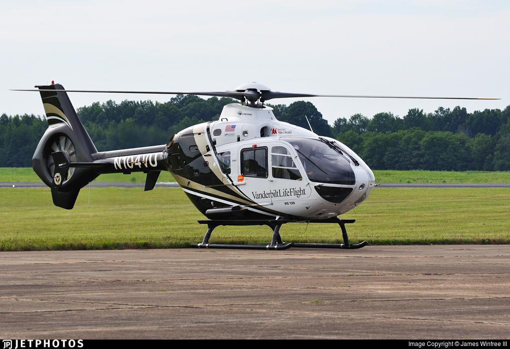 N104VU - Eurocopter EC 135T2+ - Vanderbilt LifeFlight
