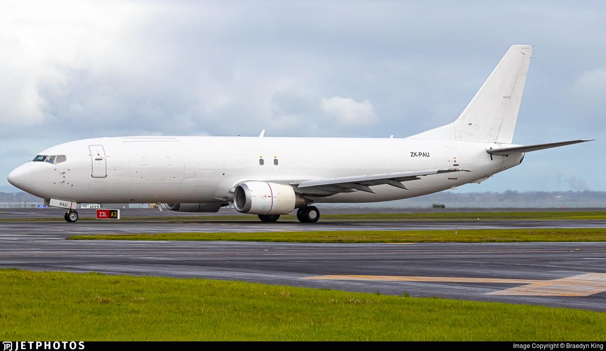 ZK-PAU - Boeing 737-4Q8(SF) - Airwork New Zealand