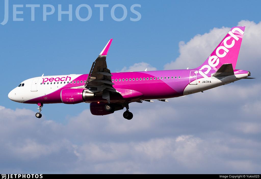 JA13VA - Airbus A320-214 - Peach Aviation