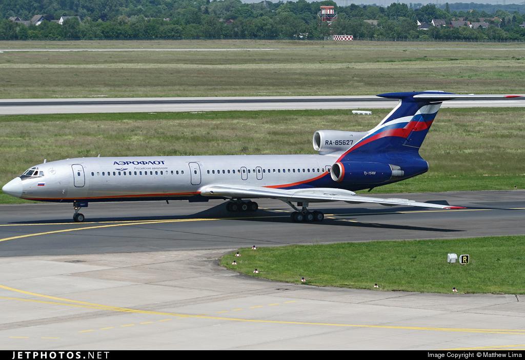 RA-85627 - Tupolev Tu-154M - Aeroflot