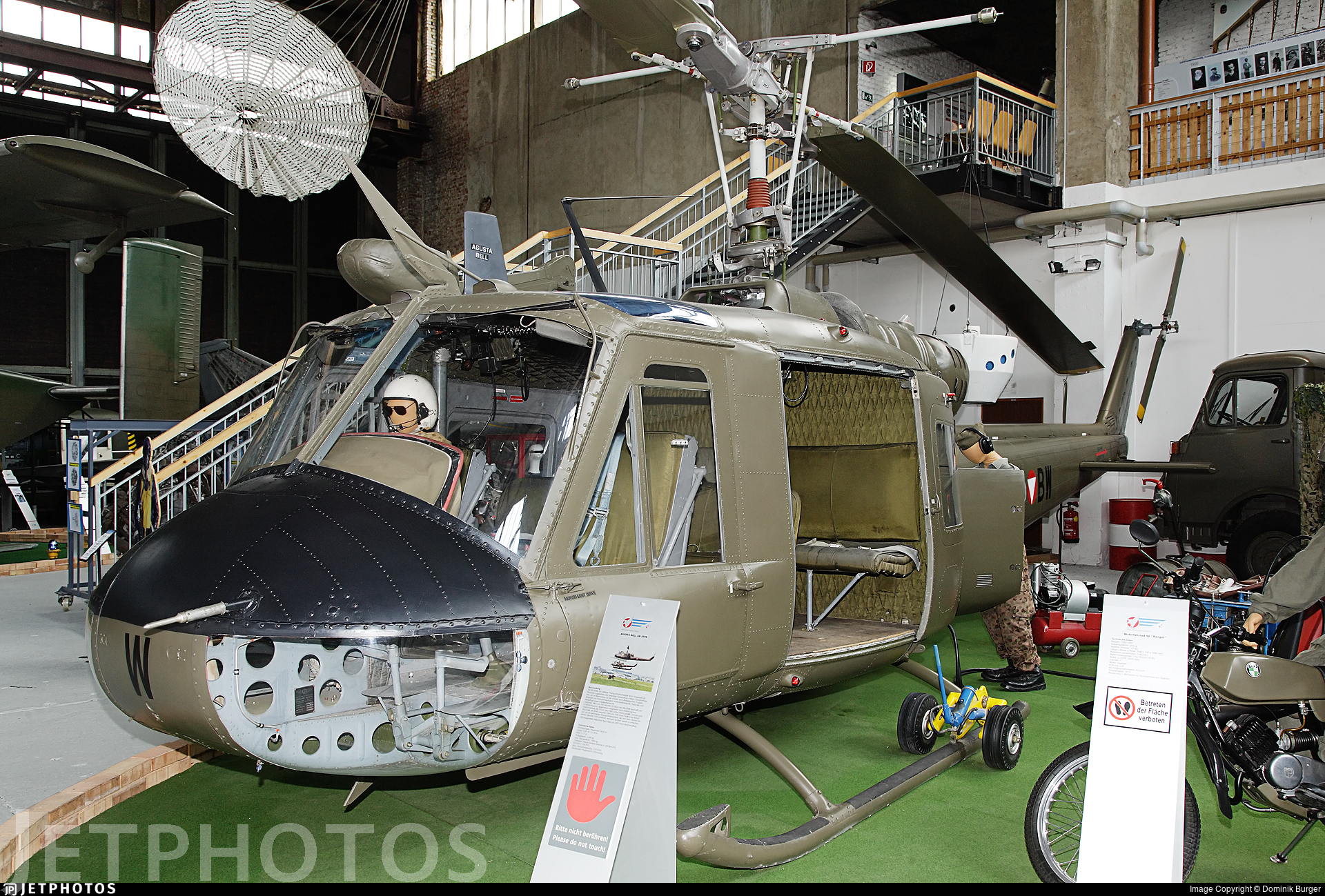 4D-BW - Agusta-Bell AB-204B - Austria - Air Force