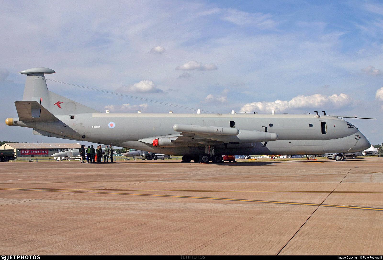 XW664 - British Aerospace Nimrod MR.1 - United Kingdom - Royal Air Force (RAF)