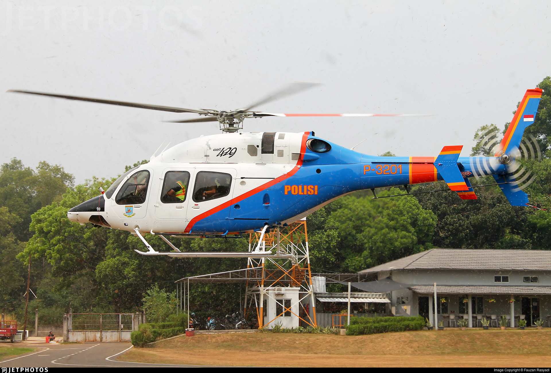 P-3201 - Bell 429 - Indonesia - Police