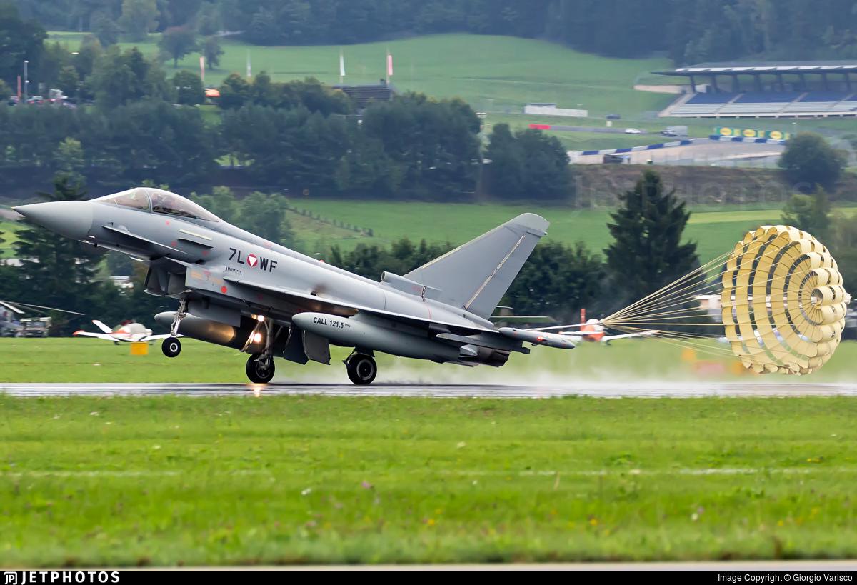 7L-WF - Eurofighter Typhoon EF2000 - Austria - Air Force