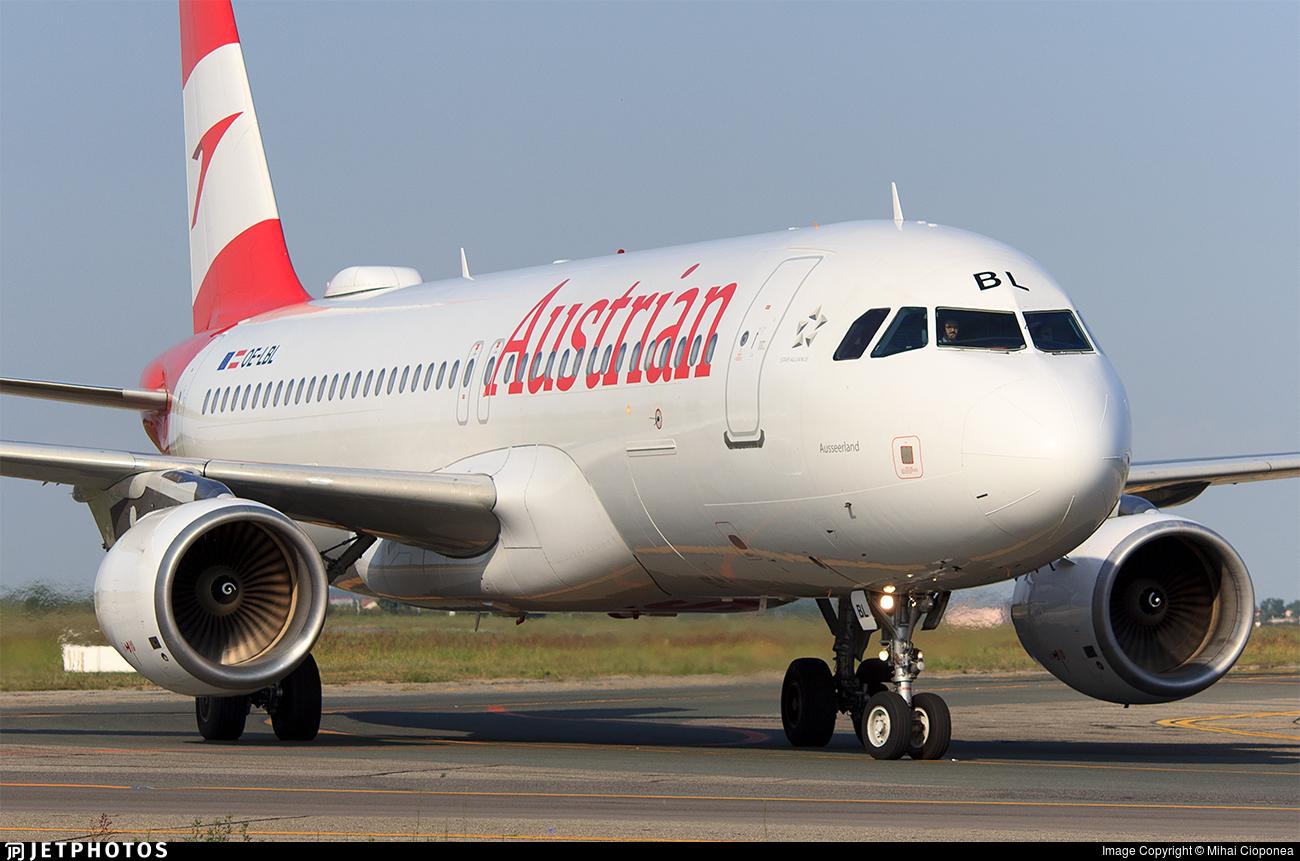 OE-LBL - Airbus A320-214 - Austrian Airlines