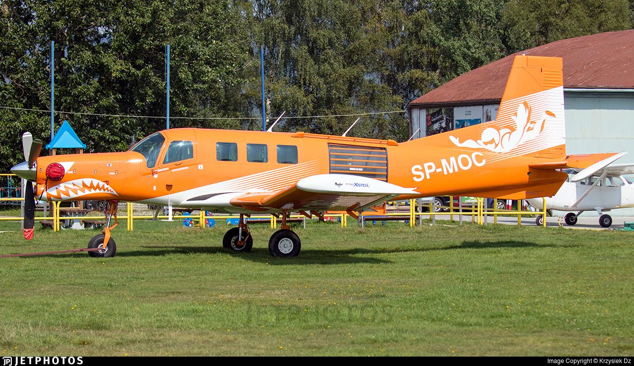 SP-MOC - Pacific Aerospace P-750 XSTOL - Aero Club - Gdanski