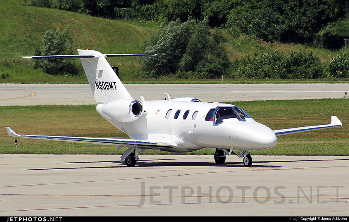 N906MT - Cessna 525 CitationJet M2 - Private