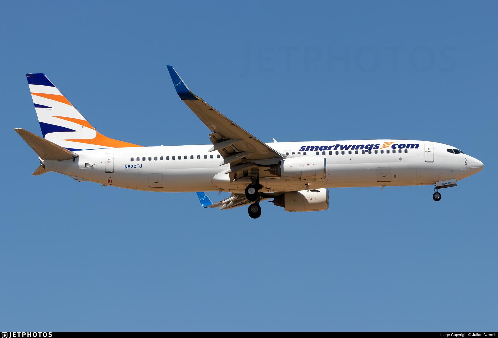 N820TJ - Boeing 737-8Q8 - SmartWings (Swift Air)