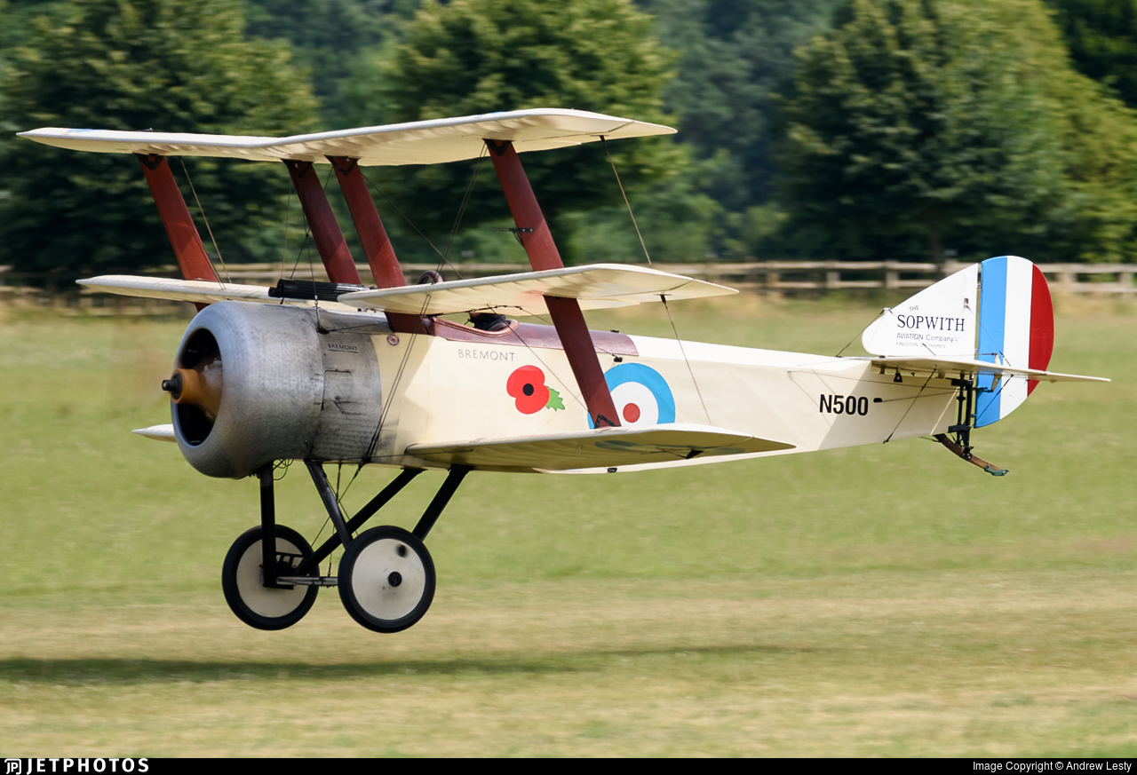 G-BWRA - Sopwith Triplane - Private