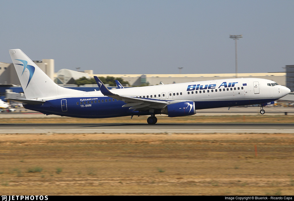 YR-BMM - Boeing 737-82R - Blue Air