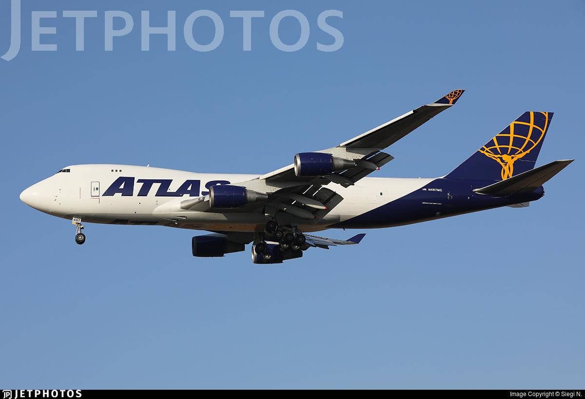N487MC - Boeing 747-45EF(SCD) - Atlas Air