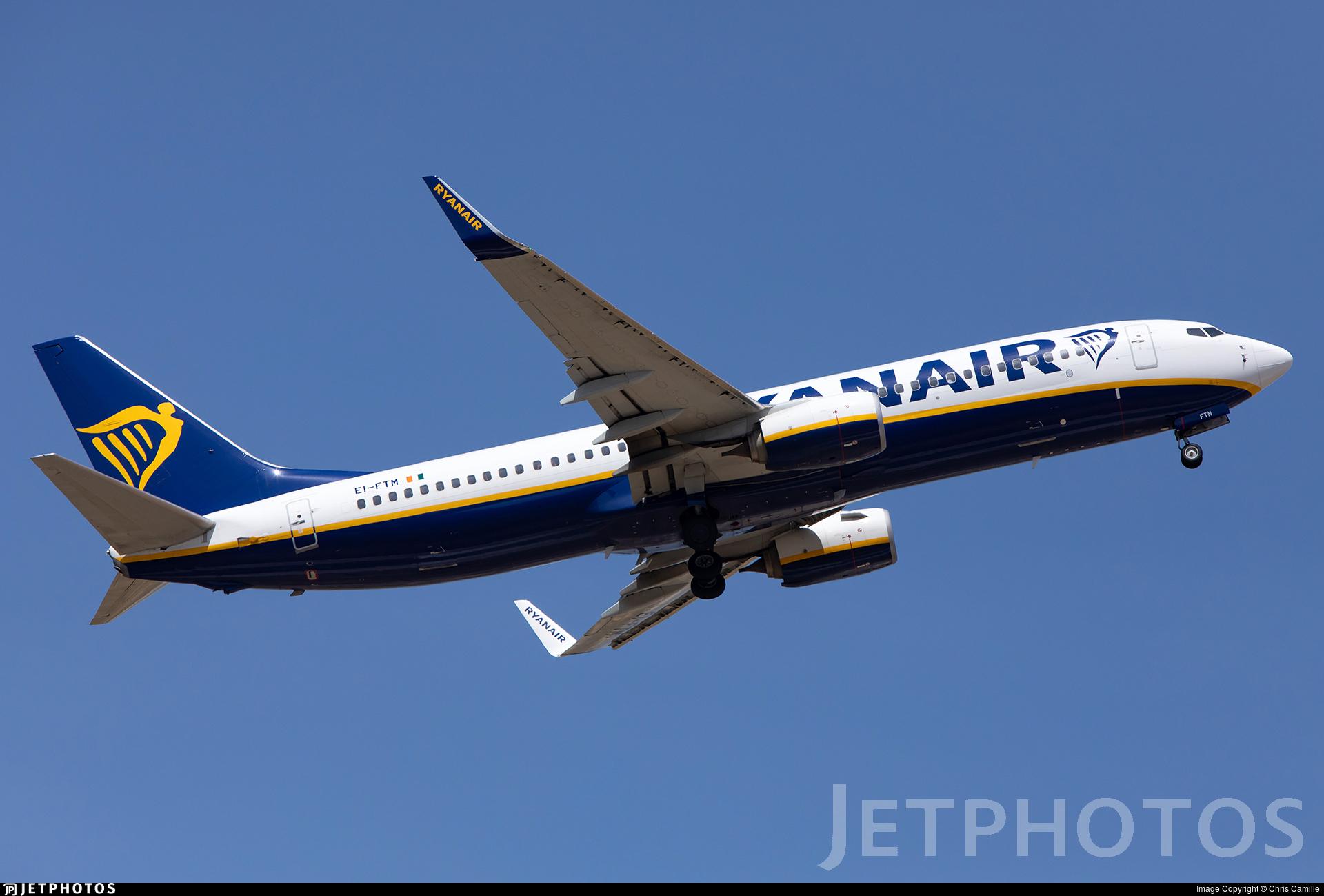 EI-FTM - Boeing 737-8AS - Ryanair