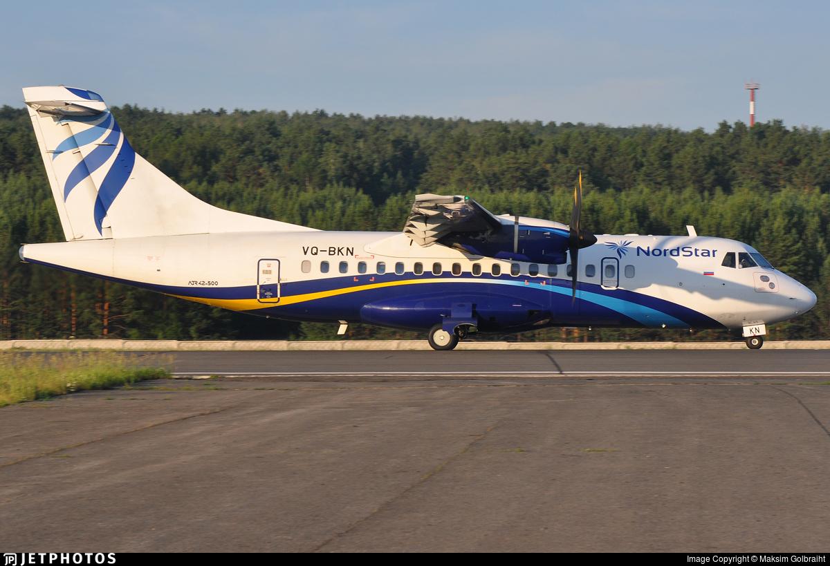 VQ-BKN - ATR 42-500 - Nordstar