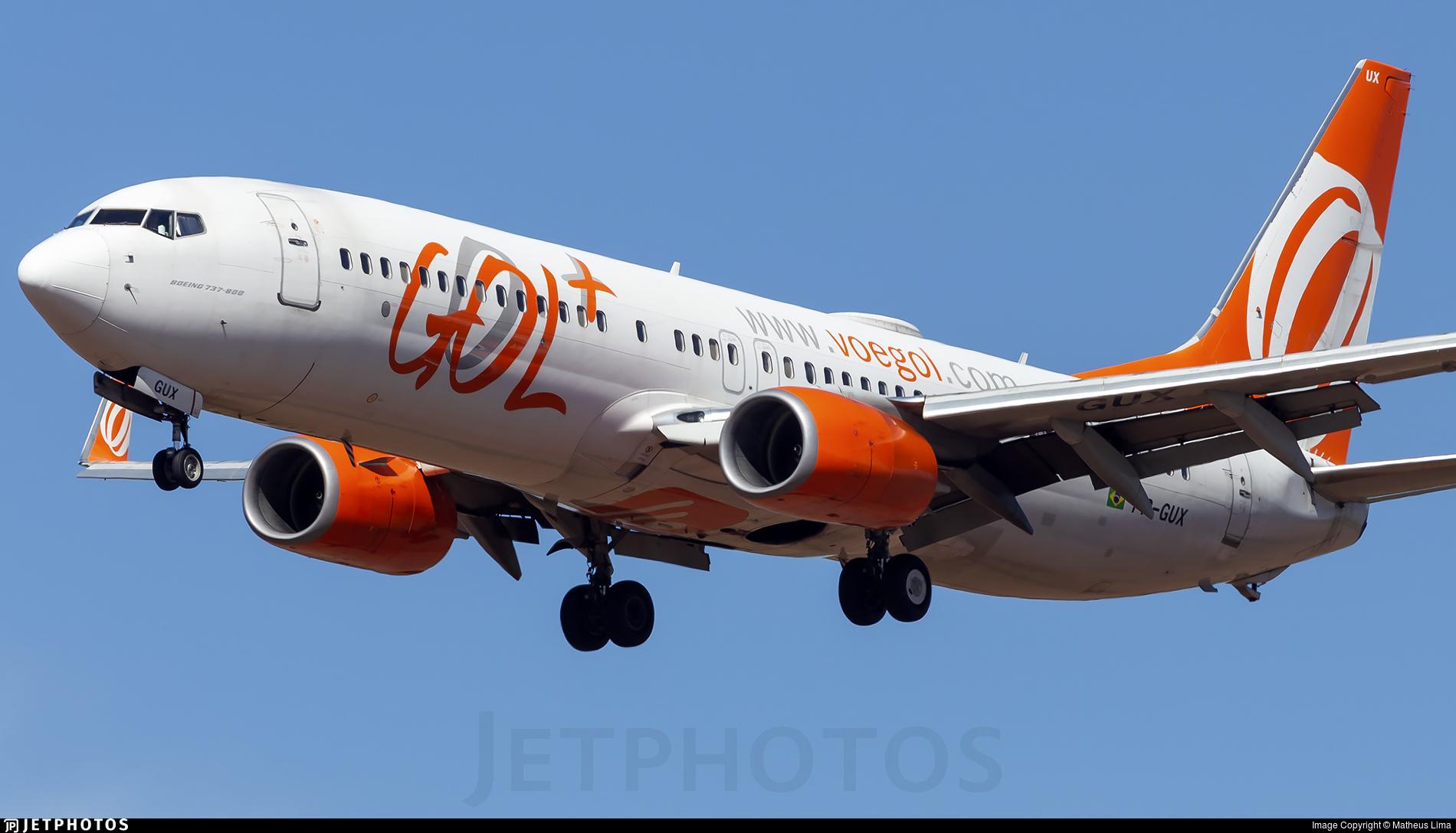 PR-GUX - Boeing 737-8EH - GOL Linhas Aereas