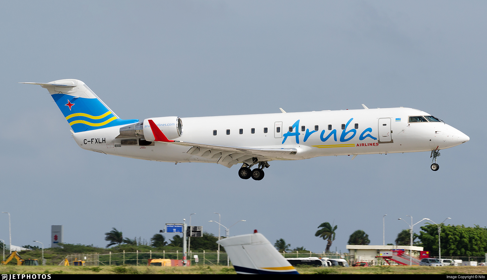 Image result for aruba airlines crj 200