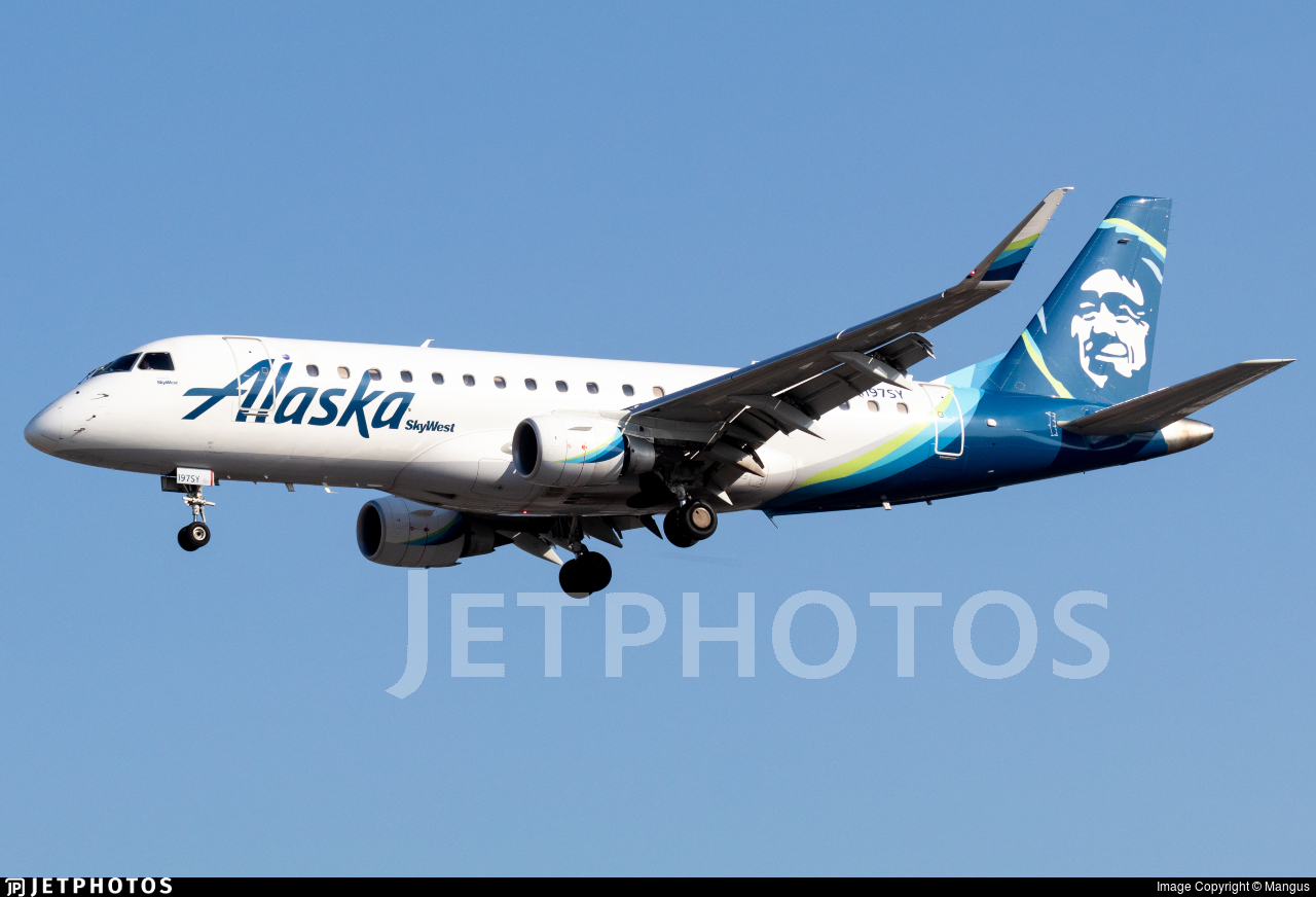 N197SY - Embraer 170-200LR - Alaska Airlines (Skywest Airlines)