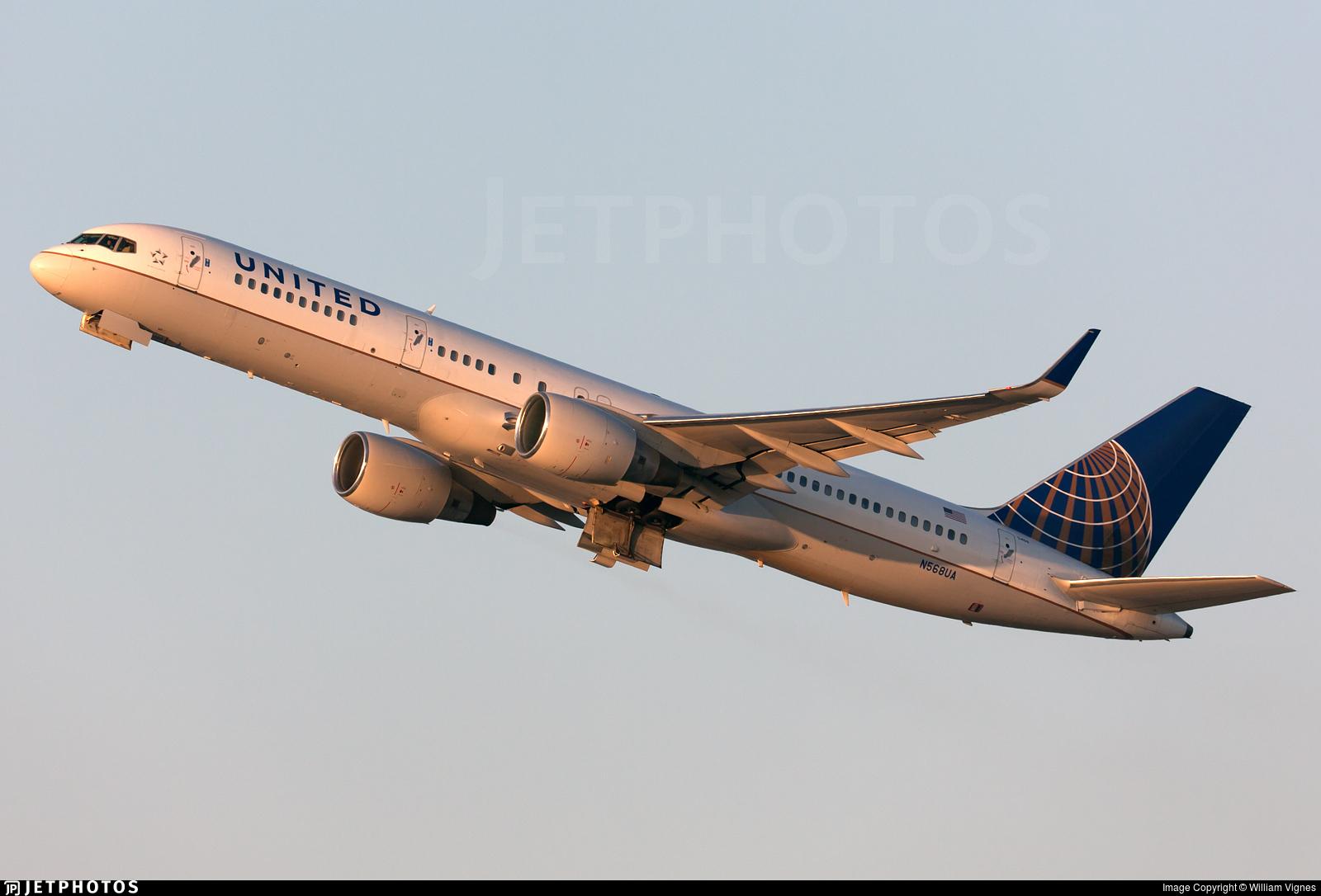 N568UA - Boeing 757-222 - United Airlines