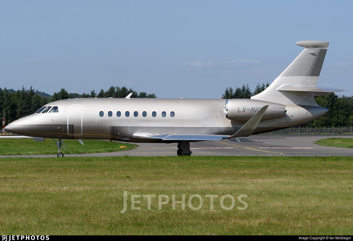 LX-MIC - Dassault Falcon 2000S - Global Jet Luxembourg