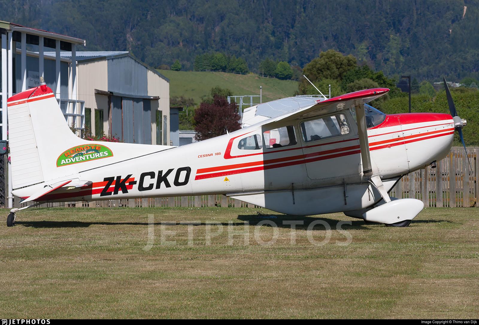 ZK-CKO - Cessna 185D Skywagon - Remote Adventures