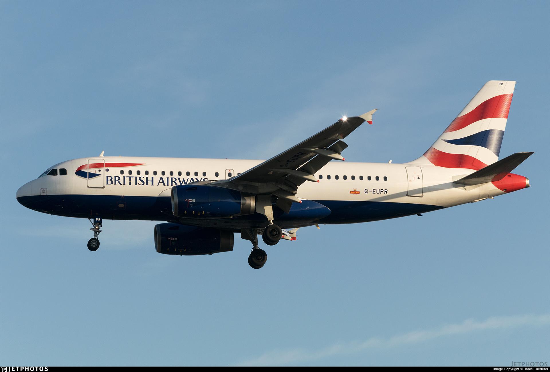 G-EUPR - Airbus A319-131 - British Airways