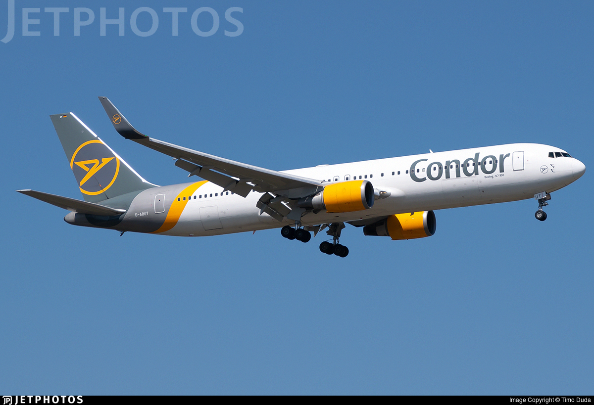 D-ABUT - Boeing 767-3Q8(ER) - Condor