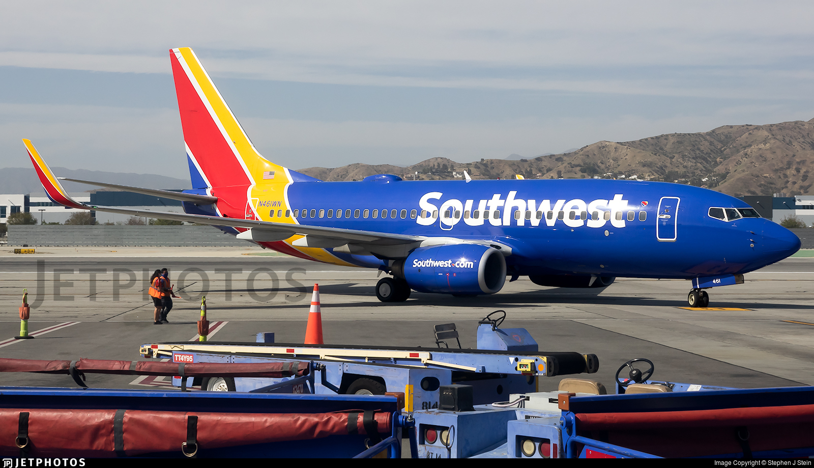 N461WN - Boeing 737-7H4 - Southwest Airlines
