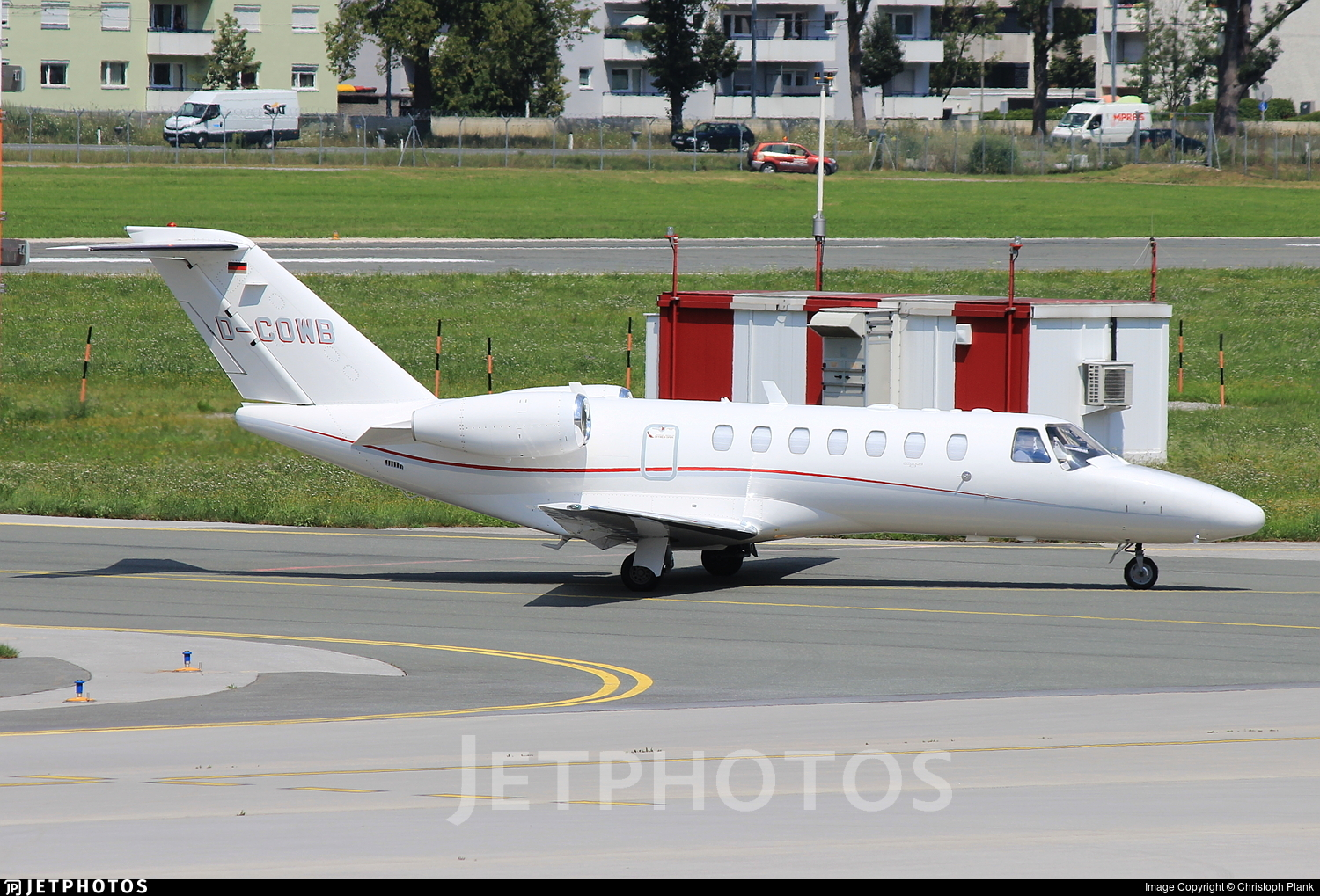 D-COWB - Cessna 525B CitationJet 3 - Private