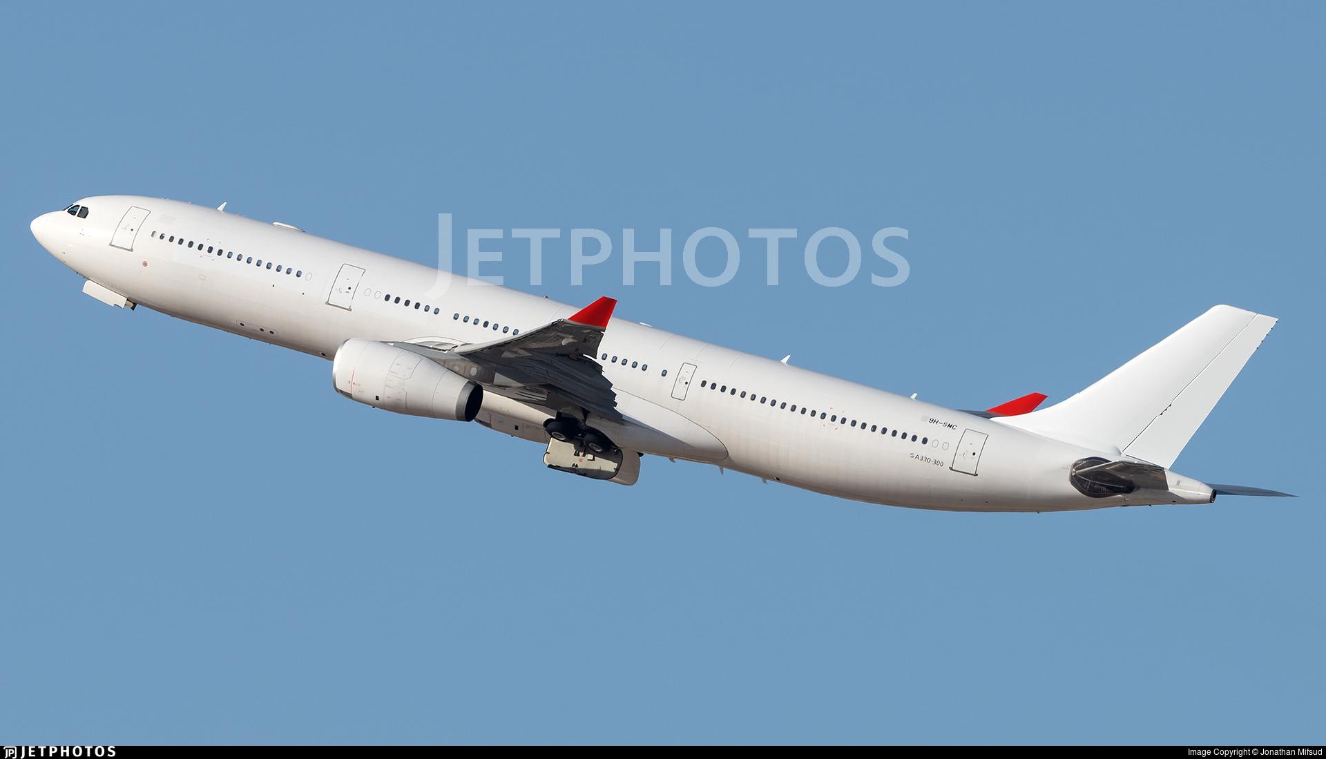 9H-SMC - Airbus A330-343 - SmartLynx Malta
