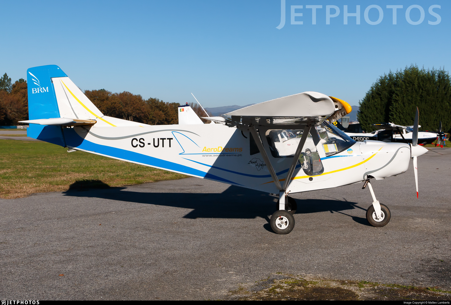 CS-UTT | BRM Land Africa | Private | Matteo Lamberts | JetPhotos