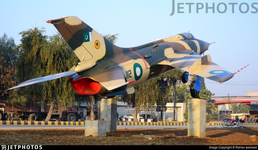 3W-112 - Nanchang A-5 Fantan - Pakistan - Air Force