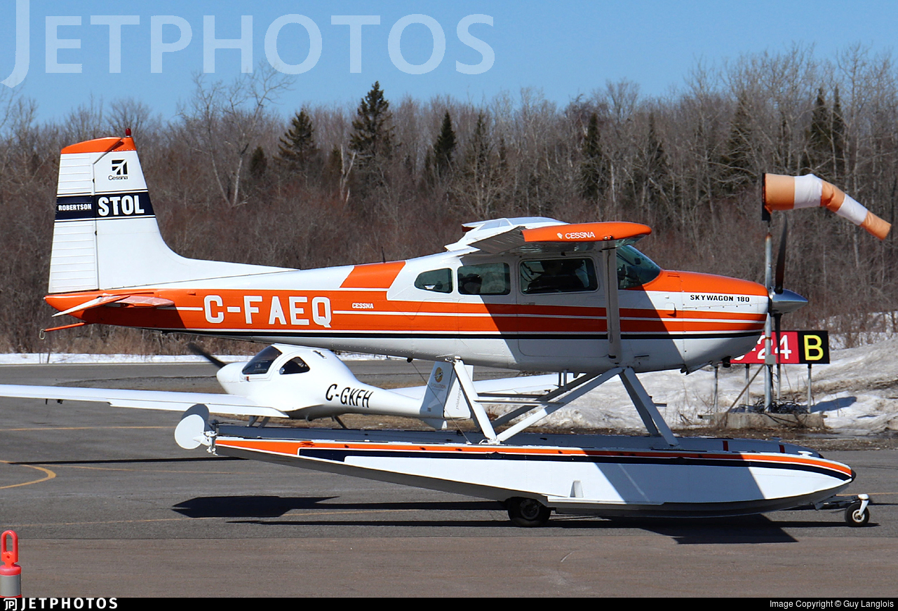 C-FAEQ - Cessna 180H Skywagon - Private