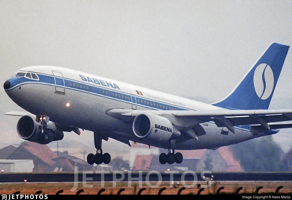 OO-SCA - Airbus A310-222 - Sabena