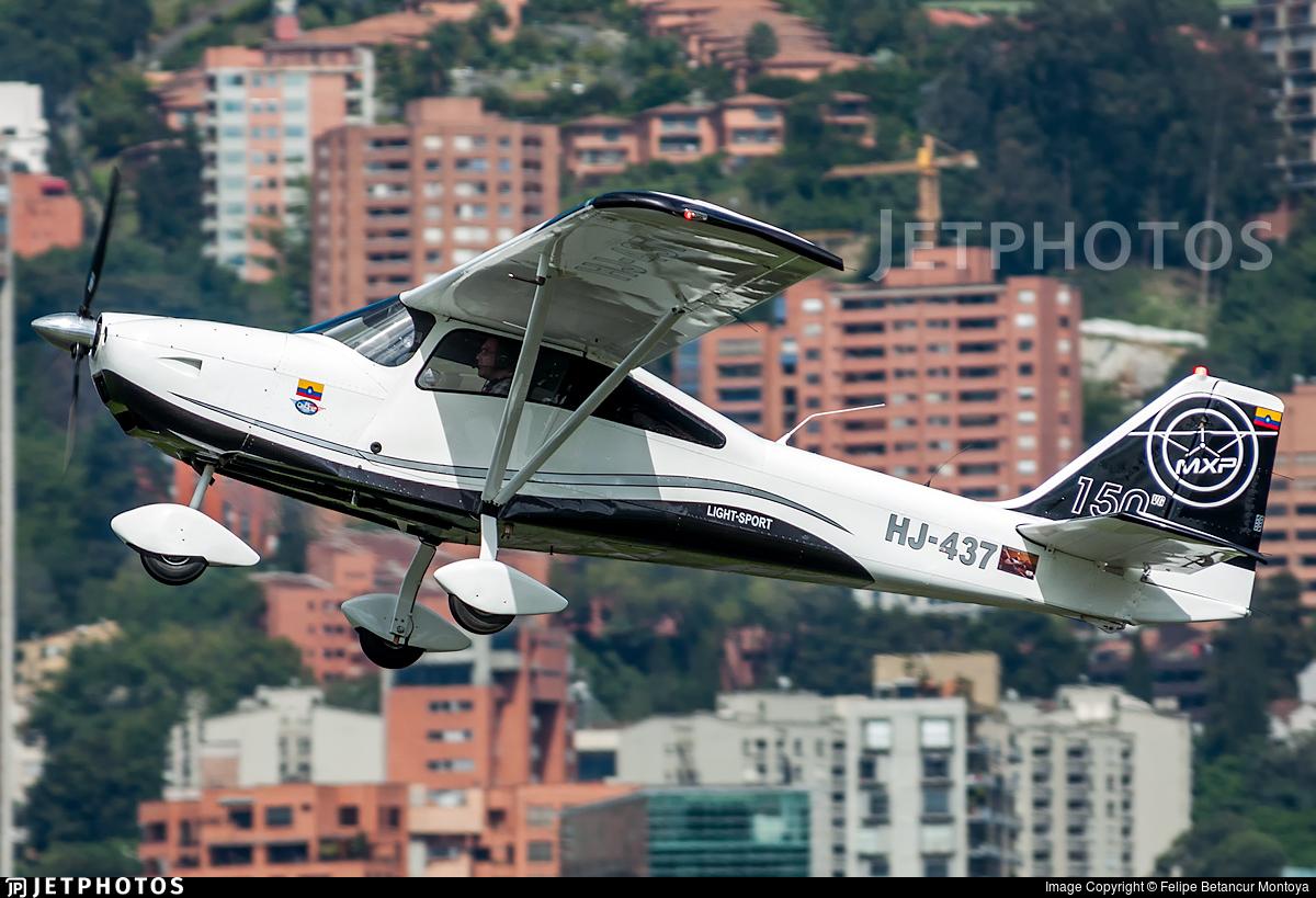 HJ-437 - AeroAndina MXP-150 Kimbaya - Private